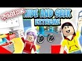 Roblox Extreme Hide and Seek - Audrey Knows ALL the Secret Spots?!?!!! - with RadioJH Games Audrey