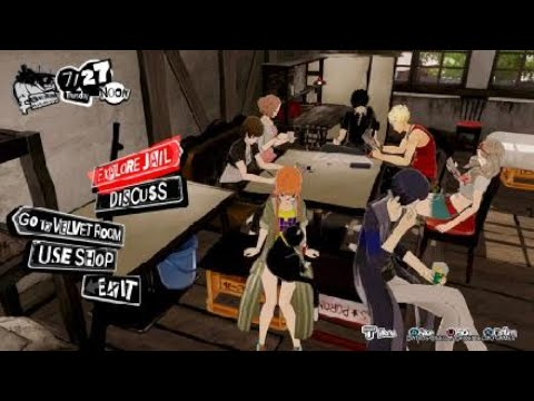 Persona 5 Strikers - Game Over |