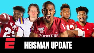 Jalen Hurts, Joe Burrow, Tua Tagovailoa headline top Heisman candidates | College Football