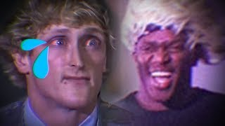 KSI vs LOGAN PAUL (LOGAN CRIED)