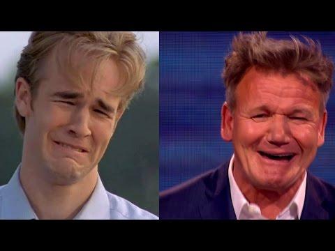 Gordon Ramsay Recreates the Famous James Van Der Beek Crying Meme!