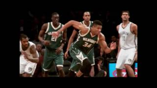 Giannis in Slow Motion | Best of Phantom | MIL @ BKN 12.1.16