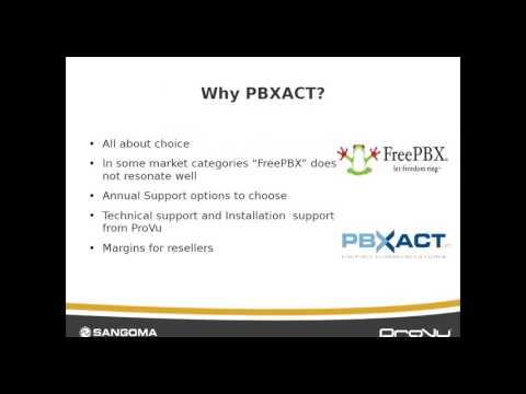 Sangoma PBXact  UC Introduction