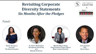 Revisiting Corporate Diversity Statements 6 Months After the Pledges