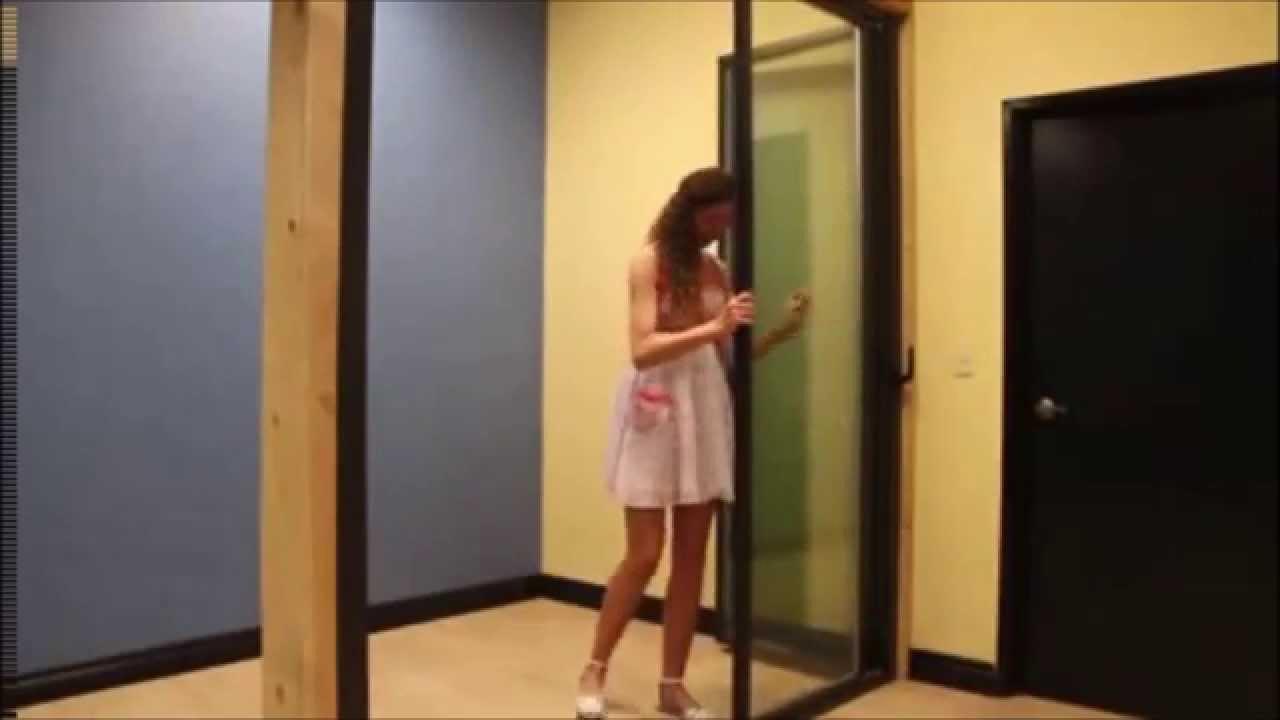 Ultra Slim Folding Doors Glass Curtains USA - YouTube
