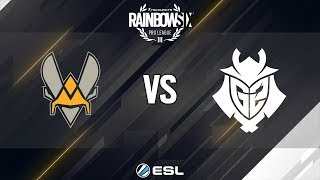 Rainbow Six Pro League - Season 8 - EU - Team Vitality vs. G2 Esports - Week 8