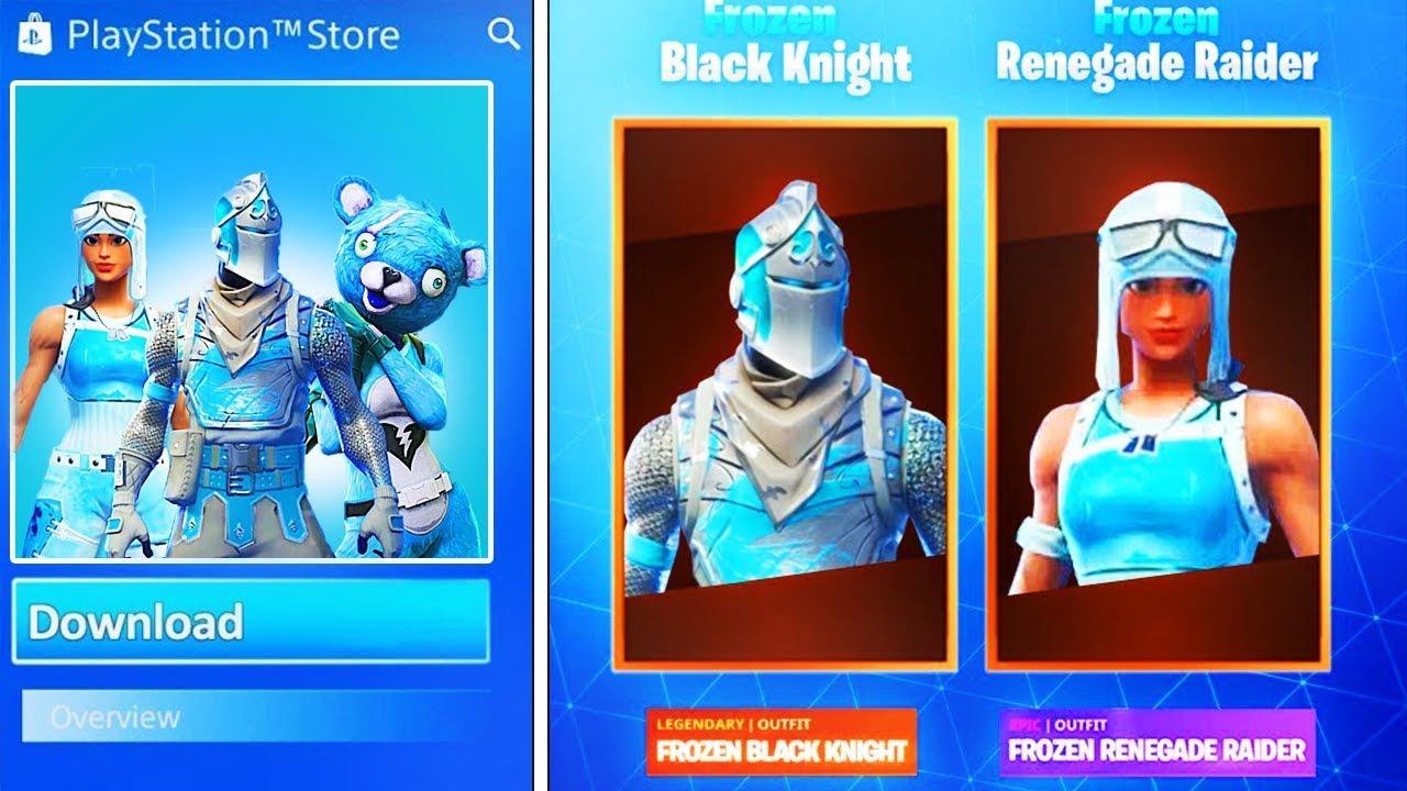 new - ice black knight fortnite