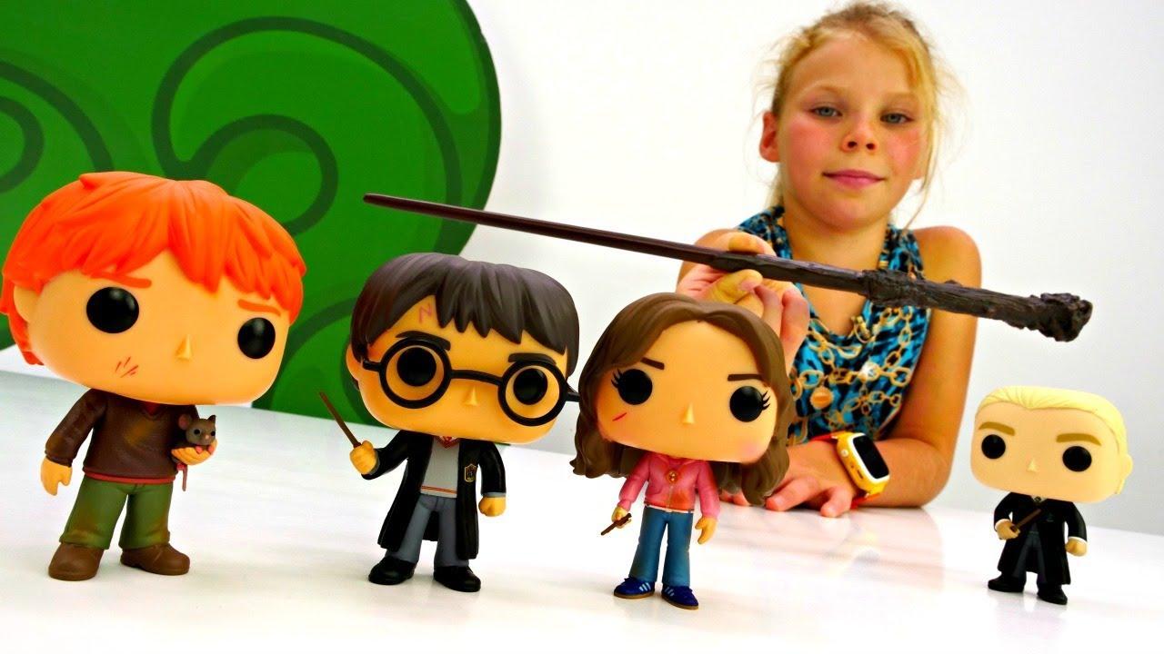 Гарри Поттер - Распаковка! Новые игрушки. Видео для детей ...