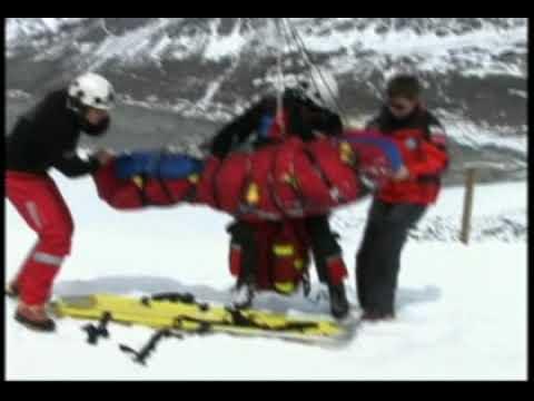 Spaltensturz - Bergrettung Air Zermatt
