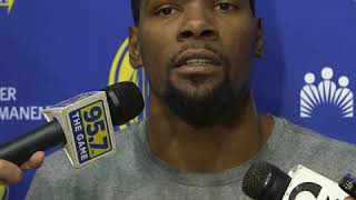 Kevin Durant responds to LeBron James rumors