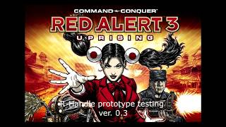 Command and Conquer Red Alert 3 - Uprising: R-handle Controller v. 0.3 test #2