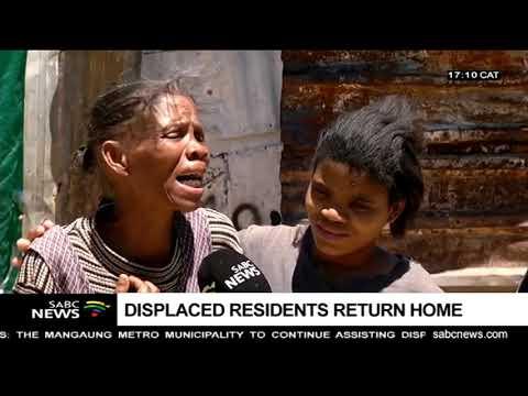 Bloemfontein floods leave many displaced