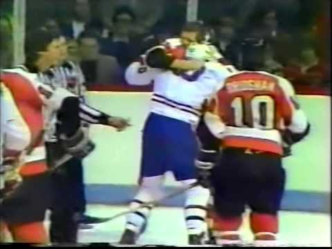Old Maine Mariners & Philadelphia Flyers Fights