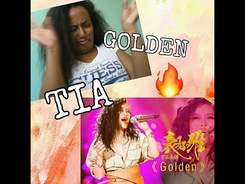 Golden  Tia  袁婭維 THE SINGER  REACTION by Siwah