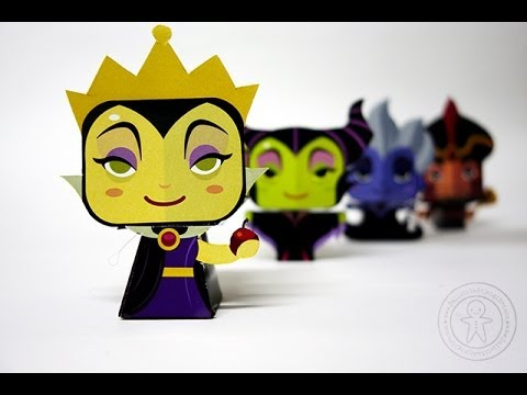 Papercraft Papercraft - Disney Villains by Gus Santome
