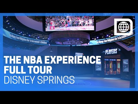 The NBA Experience - Full Tour - Disney Springs