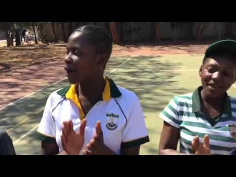 Harare Girls Volleyball team