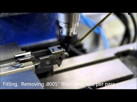STI 2011 Frame and Slide Fitting - CNC - YouTube