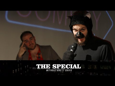 Puddles The Cat Comedian (Colin Burgess) on The Special Without Brett Davis