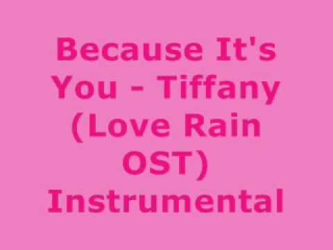 Because It's You - Tiffany [MR] Instrumental + DL Link