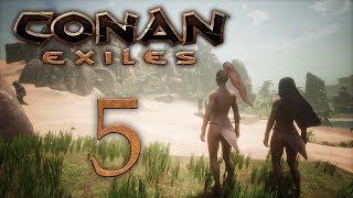 Conan Exiles - прохождение игры на русском - Нужно больше ресурсов! [#5] | PC