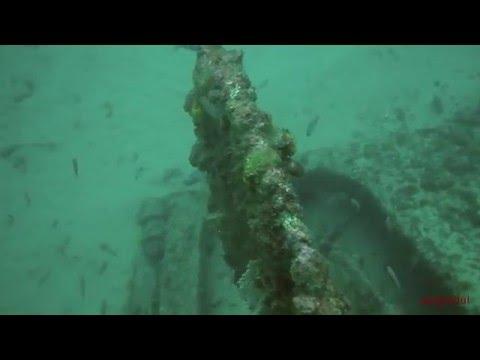 Inmersión en el pecio del Citos (barco de las maderas). Tarifa