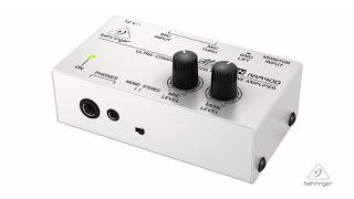 MICROMON MA400 Ultra-Compact Monitor Headphone Amplifier