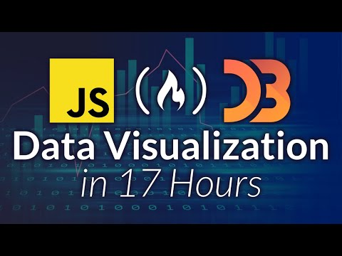 Data Visualization with D3, JavaScript, React - Full Course [2021]