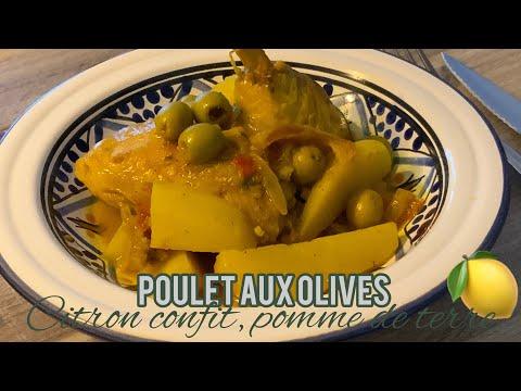 recette-du-poulet-aux-olives---pomme-de-terre-et-citron-confit