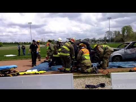 Mock Accident @ Fredericktown HS