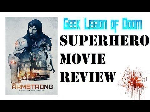 ARMSTRONG ( 2017 Vicky Jeudy ) aka IRON ARM Sci-Fi Superhero Movie Review