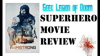 ARMSTRONG ( 2017 Vicky Jeudy ) aka IRON ARM Sci-Fi Superhero Movie Review