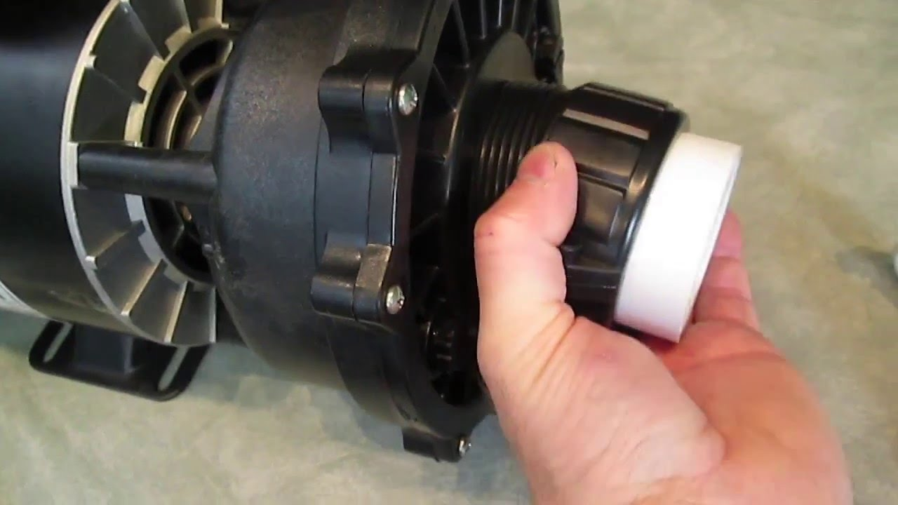 Jacuzzi Pool Pump Union Hot Tub Pump Union Emergency Repair Split Nuts The Spa Guy How To