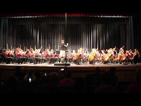 Five Forks MS 7th Grade Orchestra - Midnight Tango by William Pordon