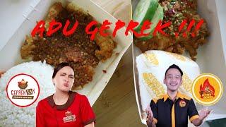 Download Video Adu Geprek || Geprek Say (Shandy Aulia) Vs Geprek Bensu (Ruben Onsu) || Kepedesan Sampai Ke pori2 MP3 3GP MP4