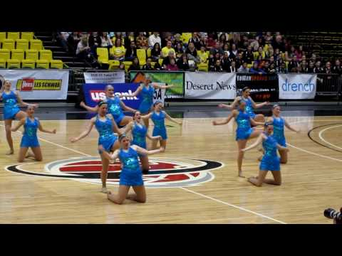 BHS 1st place Drill Team Dance Routine 2010