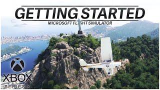 [4K] Getting Started with Xbox Microsoft Flight Simulator (Tutorial)