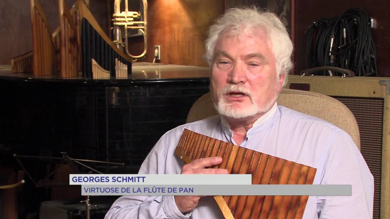 Portrait : Georges Schmitt, virtuose de la flûte de pan ...