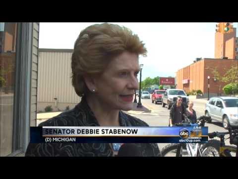 U.S. Senator Debbie Stabenow visiting U.P.