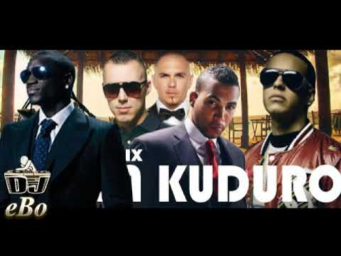 Don Omar Ft  Lucenzo, Daddy Yankee, Akon & Pitbull   Danza Kuduro Remix  YouTube