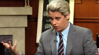 Milo Yiannopoulos Defends Pedophilia and  Hollywood Pedophiles
