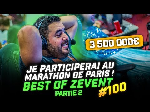🎬 JE PARTICIPERAI AU MARATHON DE PARIS (2/2) ! BEST OF ZEVENT #100