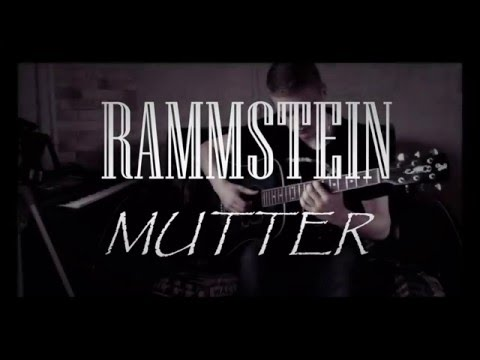 Rammstein - Mutter (Acoustic guitar cover)|Fingerstyle