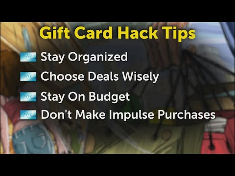 Buy gift cards and receive rewards using credit cards