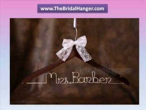 Personalised Bridal Hangers For Your Wedding Dress In The Uk Www Thebridalhanger