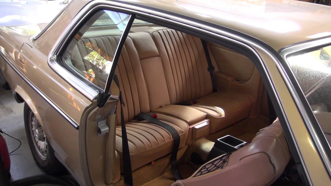 Mercedes seat reupholstery redwood city cooks upholstery for Mercedes benz redwood city
