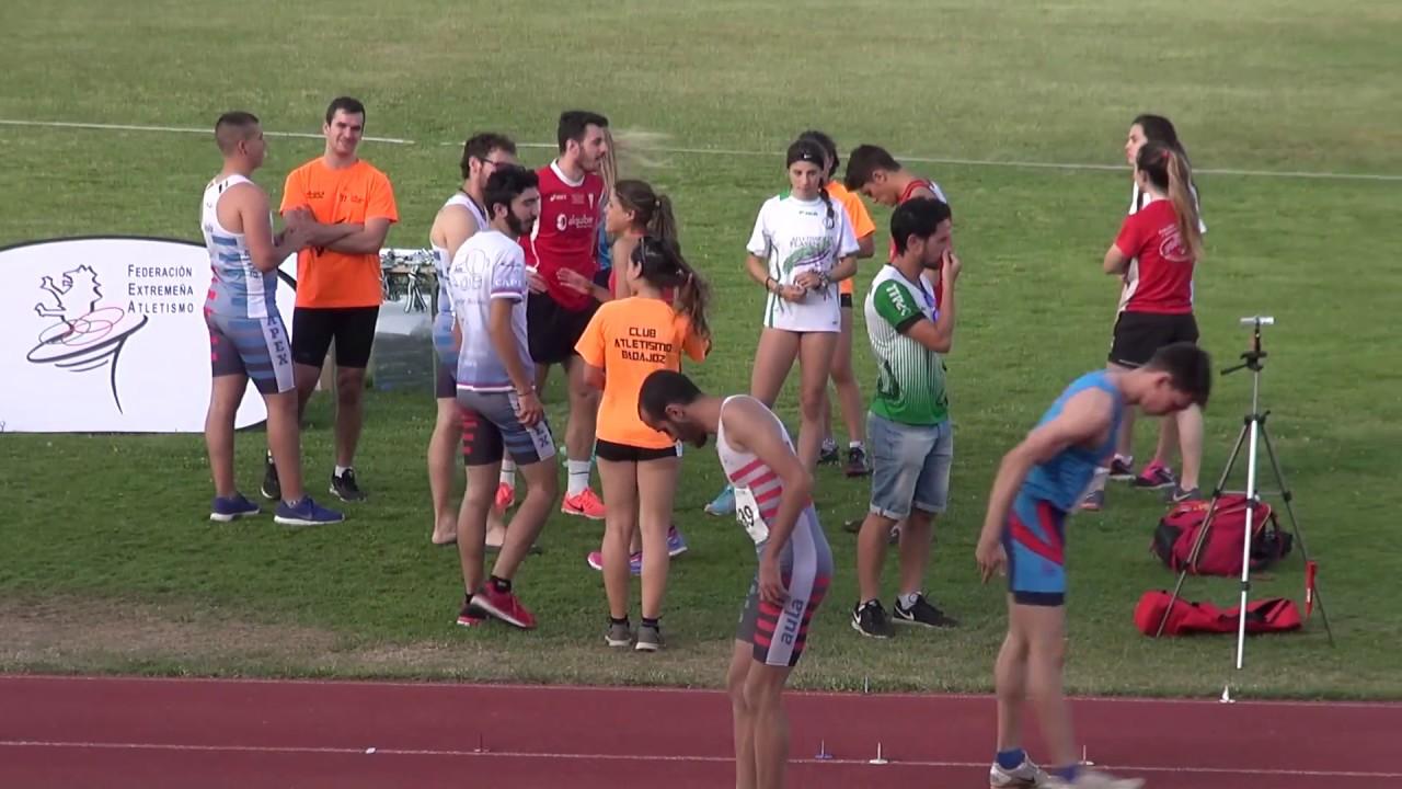 Campeonato Absoluto De Extremadura Club De Atletismo Mitreo Youtube