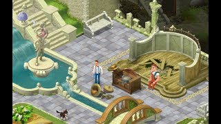 Download Mp3 : GARDENSCAPES NEW ACRES Gameplay Story Playthrough | Area 6  Day 3 And Day 4 Waterfall