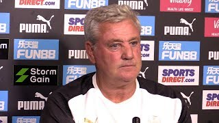 Steve Bruce Full Pre-Match Press Conference - Tottenham v Newcastle - Premier League
