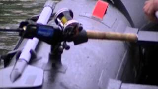Fishing Rod Holder For Inflatable Boats